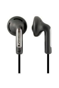 Panasonic RP-HV154 Black In-ear Leader Headphones RP-HV154/B (Original) from Panasonic Malaysia