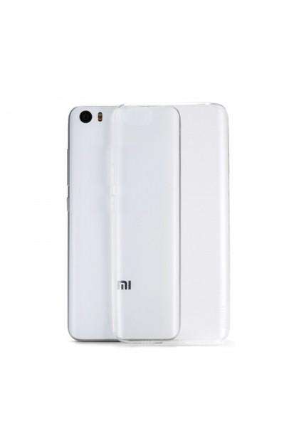 Xiaomi Mi 5 Clear Transparent Crystal TPU Silicone Case Cover