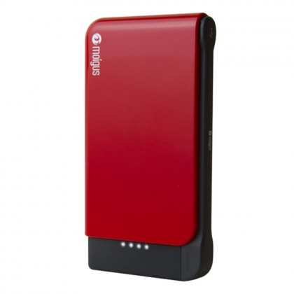 (DISPLAY) Moigus 8100mAh Power Bank Red Colour (Original)