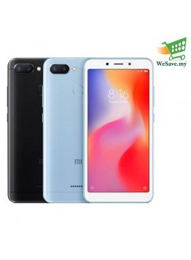 Xiaomi Redmi 6 Smartphone 3GB RAM 32GB (Original) 1 Year Warranty By Mi Malaysia