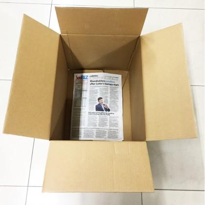 Used Empty Boxes / Corrugated Shipping Carton Boxes 10 Pcs (35 X 29 X 44 cm)