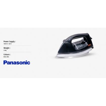 Panasonic NI-25A1 Polished Dry Iron 2kg - Black (Original) 1 Years Warranty By Panasonic Malaysia