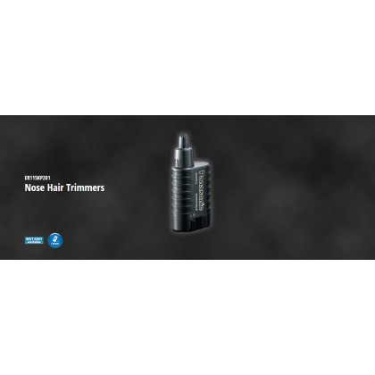 Panasonic ER-115 Nose Hair Trimmers Battery Operated ER115KP201 (Original) 1 Years Warranty by Panasonic Malaysia