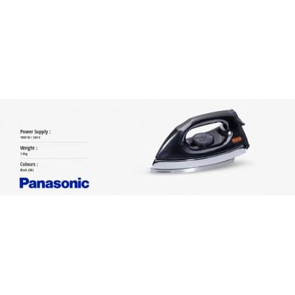 Panasonic NI-415E-BK1 Polished Dry Iron - Black (Original) 1 Years Warranty By Panasonic Malaysia