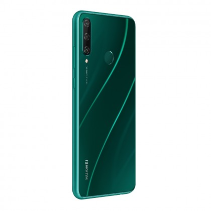 Huawei Y6p Smartphone 4GB 64GB Emerald Green Colour (Original) 1 Year Warranty By Huawei Malaysia (FREE ACCESSORIES)