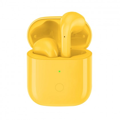 Realme Buds Air Wireless Earbud Yellow Colour (Original) 1 Year Warranty by Realme Malaysia