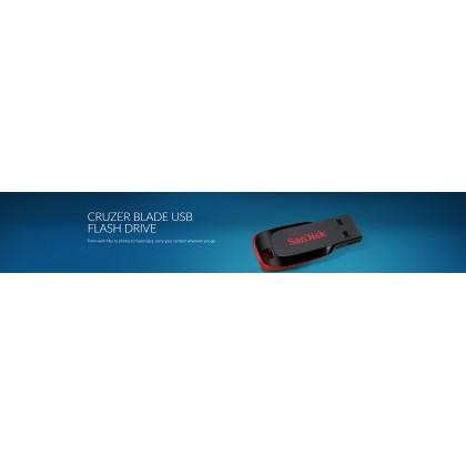 SanDisk Pendrive Cruzer Blade 64GB Flash Drive Pendrive/ Flash Drive/ Thumbdrive 2.0 SDCZ50-064G (Original)