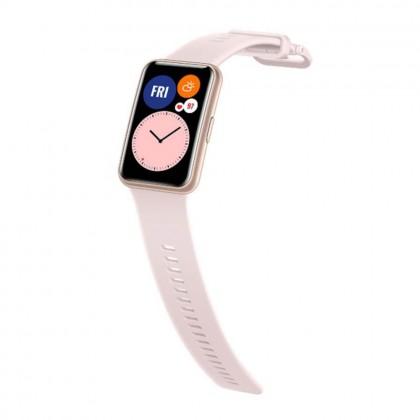 Huawei Watch Fit Sakura Pink Colour (Original) 1 Year Warranty by Huawei Malaysia