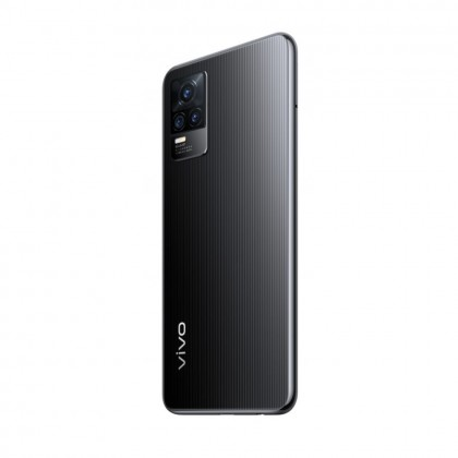 Vivo V21e Smartphone 8GB RAM 128GB Roman Black Colour (Original) 1 Year Warranty by Vivo Malaysia (FREE GIFTS)